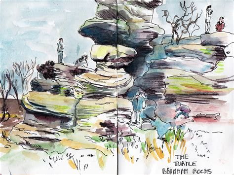 holiday sketching   north yorkshire moors national park