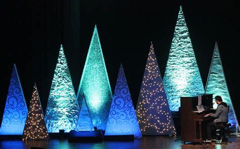 tree variety church stage design ideas