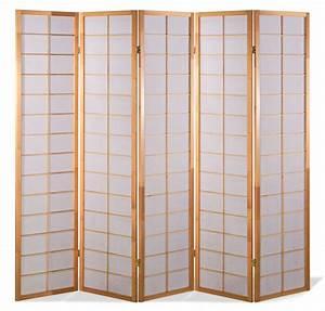 Paravent 5 Teilig : paravent japan traditional natur 5 teilig kaufen ~ Sanjose-hotels-ca.com Haus und Dekorationen