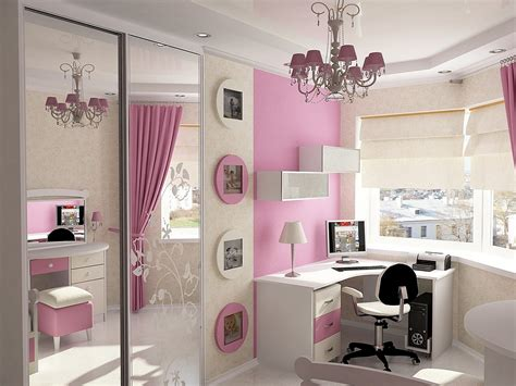 Pink Girls Bedroom Ideas For Small Rooms With Large