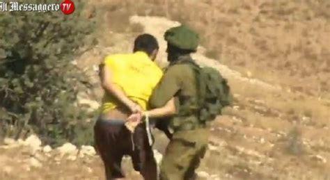 Consolato Israeliano Roma by Cisgiordania Attivista Italiano Arrestato Da Esercito
