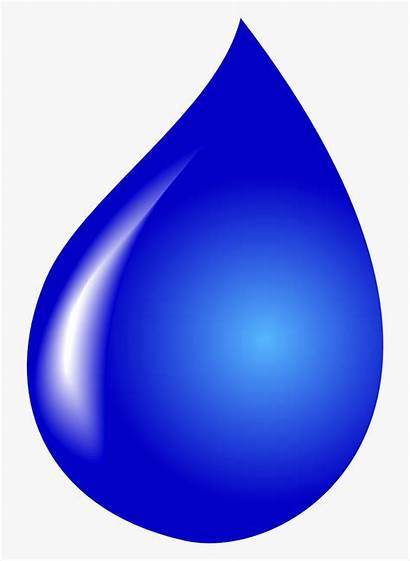 Water Clipart Drop Droplet Background Transparent Drawing