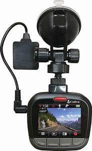 Cobra Cdr875g Hd Dash Cam With Bluetooth U00ae And Built