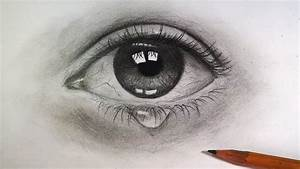 Draw Eye With Pencil  Drawing Tutorial
