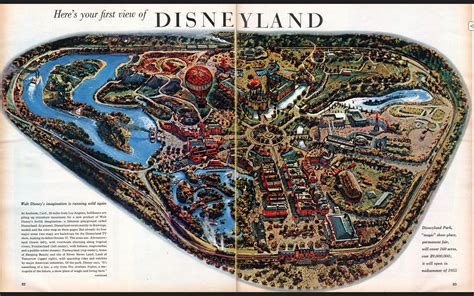map  disneyland    opened