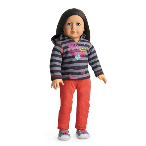 Striped Hoodie Outfit | American Girl Wiki | FANDOM powered by Wikia