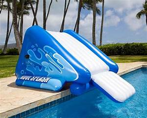 toboggan gonflable pour piscine intex 58849np piscineco With toboggan gonflable pour piscine enterree