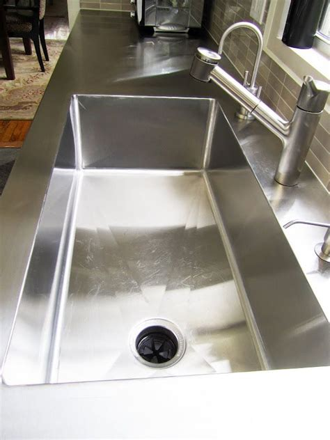 Stainless Steel Sink Countertop Integrated - stainless kitchen sink and counters countertops all in