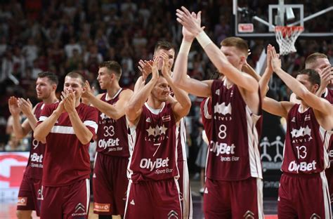 Lielais basketbols Rīgā: Porziņģa iedvesmotā Latvija ...