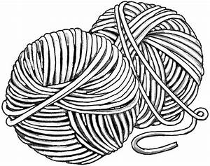 Free ball of yarn coloring pages