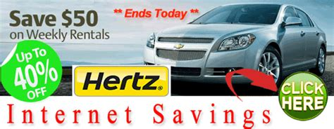 Uncover Hertz Car Rental Coupons