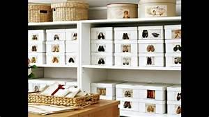 Idee Rangement Chaussure : idee rangement chaussures ~ Teatrodelosmanantiales.com Idées de Décoration