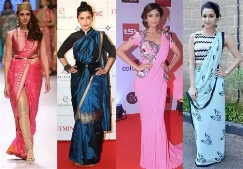 Different Drapes Of Saree - what are the new trendy styles to drape a saree for a