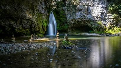 Zen Garden Wallpapers Wallpapersafari Waterfalls