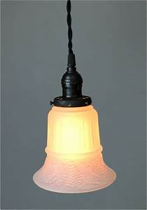 Satin glass shade quot fitter size pendant light fixture