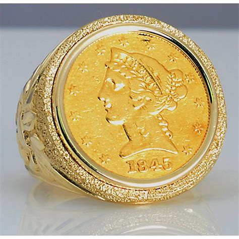 Us $5 Liberty Head Gold Coin In Man's Designer 14kt Gold. Bubble Rings. Breakaway Wedding Rings. Classic Modern Engagement Rings. Colored Wedding Rings. Alan Scott Rings. Military Wedding Rings. Pretty Stone Wedding Rings. Concrete Rings