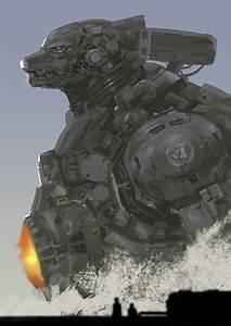Mecha Godzilla by rickyryan on DeviantArt