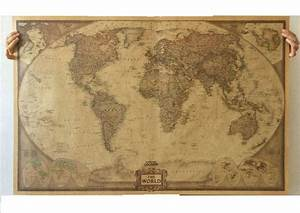 Weltkarte Poster Vintage : world map paper posters retro vintage style retro in wall stickers home decoraction art word map ~ Watch28wear.com Haus und Dekorationen