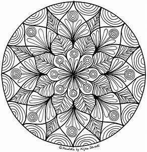 Mandalas Fr Erwachsene Blumen Nr 6 MandalaMalspiel