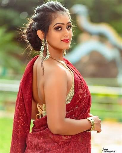 Saree Kannada Sonu Surabhi Actress South Indian