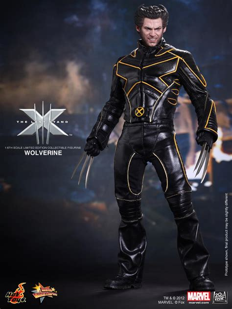 wolverine toys last stand scale figure hugh jackman suit marvel costume limited edition xmen leather sixth figures action figurine collectible