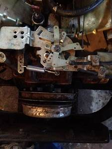 Lazer With Kohler Ch23 Carb Linkage