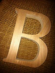 6 to 10 inch unfinished wooden letter b With 10 inch unfinished wooden letters