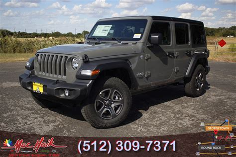 2020 Jeep Wrangler Exterior Colors by 2020 Jeep Wrangler Unlimited Sport S 4x4 Price 2019