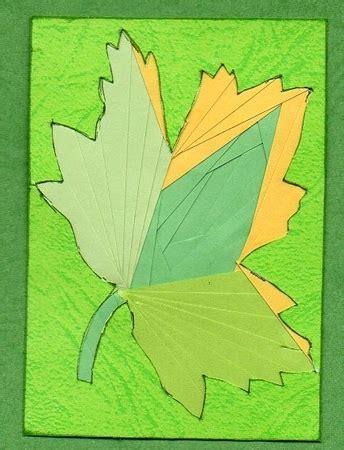 maple leaf iris folding pattern cup craftsuprint