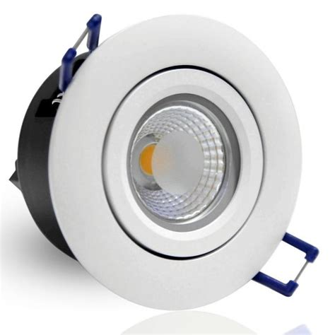 directional 5w cob led recessed lighting fixture 2800k