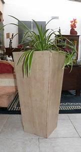 Creation Avec Des Pots De Fleurs : grand pot de fleurs en carton exoticcreation ~ Melissatoandfro.com Idées de Décoration