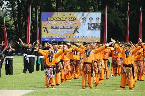 Kapolres Buka Festival Jurus Harmoni BKP - Tribratanews ...