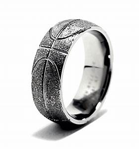 Basketball ring top picks titanium buzzcom for Sport wedding rings