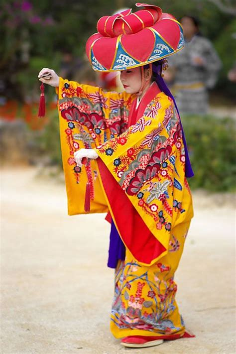 traditional okinawa ryukyu costume mourn the beautiful traditional dress if so many cultures