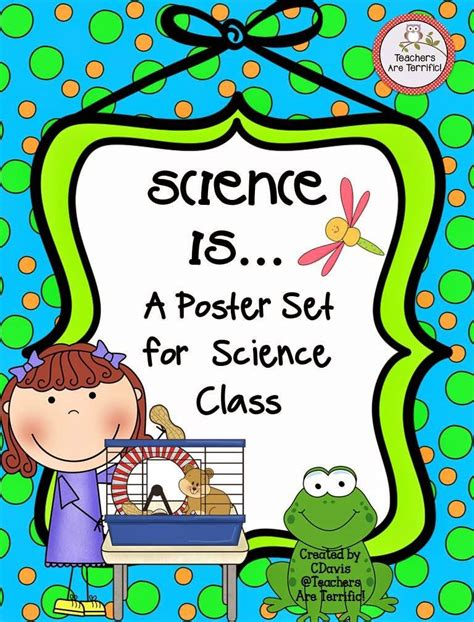 I'm creator of unique printable posters and coloring pages for kids. Science Motivational Posters in Primary Colors (With images) | Elementary science activities ...