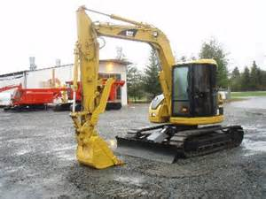 cat 308 caterpillar 308b midi excavator ritchiewiki