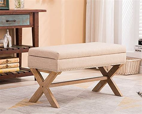 upholstered ottoman bench seats fabric upholstered storage ottoman bench large