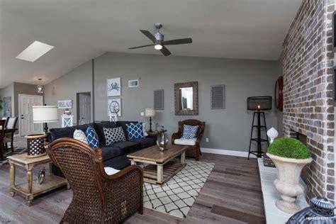 hidden gem living rooms  ceiling fans pictures