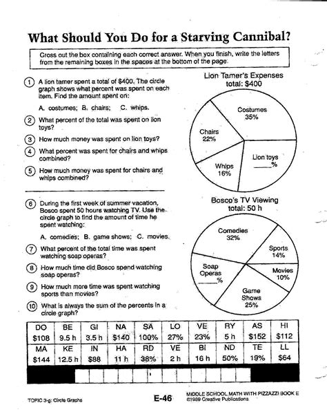 math 7 worksheets math with mr bugbee