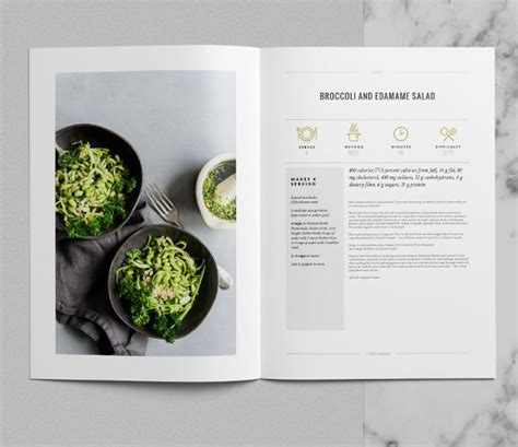 cookbook template   psd eps indesign word