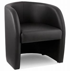 Fauteuil Salon Design : fauteuil cabriolet max noir fauteuil de salon canap design ~ Teatrodelosmanantiales.com Idées de Décoration