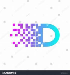 Letter D Logo Design.Network Digital Logo Icon Template ...