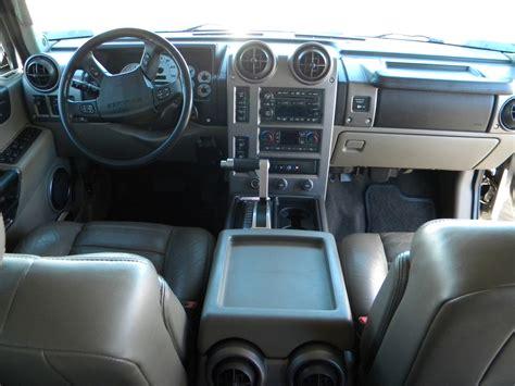 Hummer H2 White Interior