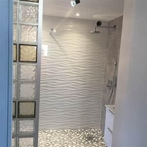 Douche Mur Verre : cuisine indogate salle de bain mosaique douche italienne ~ Zukunftsfamilie.com Idées de Décoration