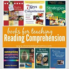 Books For Teaching Reading Comprehension Strategies