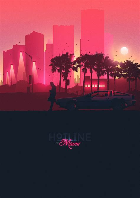 hotline miami stuff thangs  design graphic