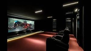 Cinema A La Maison : salle de cin ma priv sur la cote basque et maison domotique youtube ~ Louise-bijoux.com Idées de Décoration