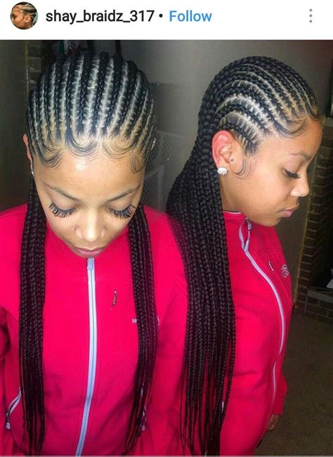 Russell says maintaining this silky straight hair is super easy! 40+ Most Popular Straight Up Straight Back Braids Styles 2019 - Mesintaip Buruk