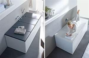 Abdeckung Für Badewanne : duravit covered bathtub interesting zuk nftige projekte pinterest badezimmer badewanne ~ Frokenaadalensverden.com Haus und Dekorationen
