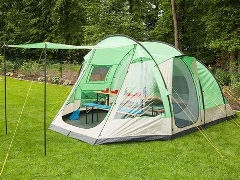 tente familiale 3 chambres skandika lyon 5 berth family tunnel tent sewn in